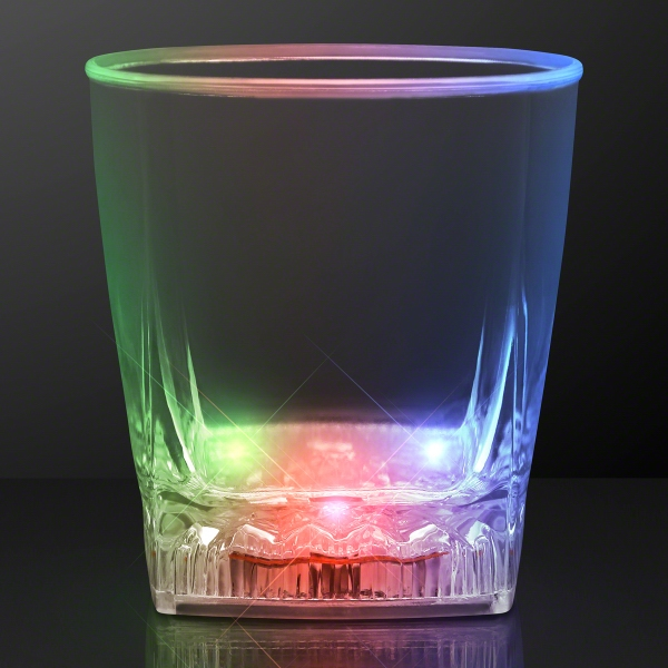 Color Change LED Whiskey Rocks Glass