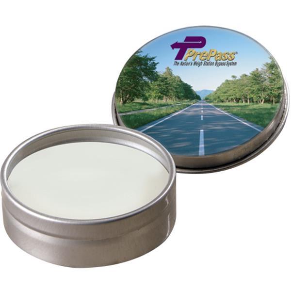 Pomegranate Lip Balm SPF15 in Small Metal Pocket Tin - Pomegranate Lip Balm SPF15 in Small Metal Pocket Tin.
