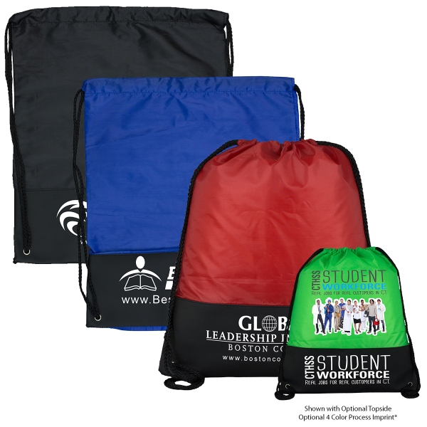McKinley 210D Polyester Drawstring Cinch Pack Backpack