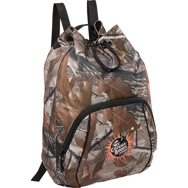 Camo Drawstring Sportspack