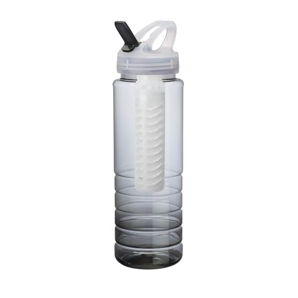 Malibu 26 oz. PET Bottle with Flip Spout & Infuser