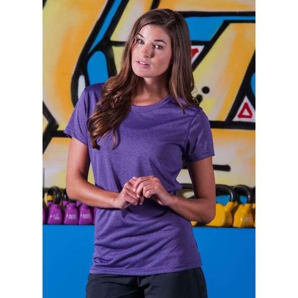 Ladie's Vegas II Heather Duracolor Training Tee