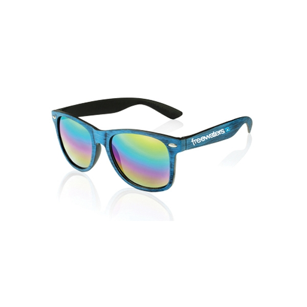 Orion Matte Woodgrain Finish Sunglasses
