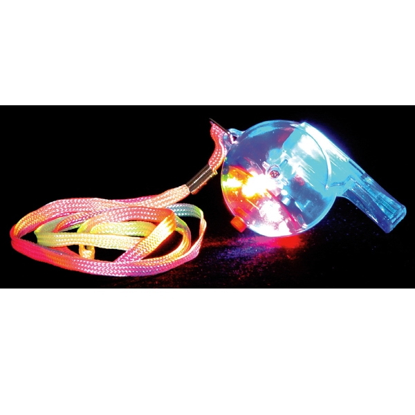 "2 1/2"" LED Whistle Necklace"