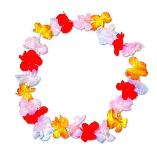 "36"" Silk Flower Leis"