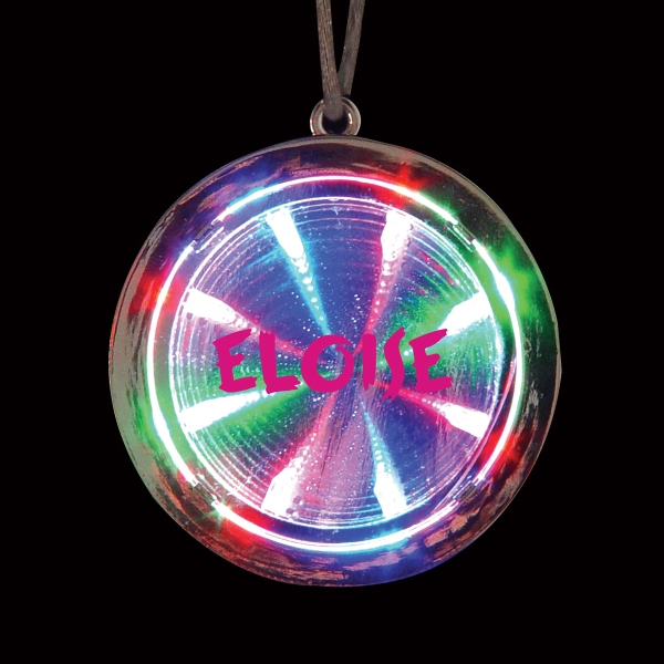 "2 3/8"" LED Tunnel Necklace"
