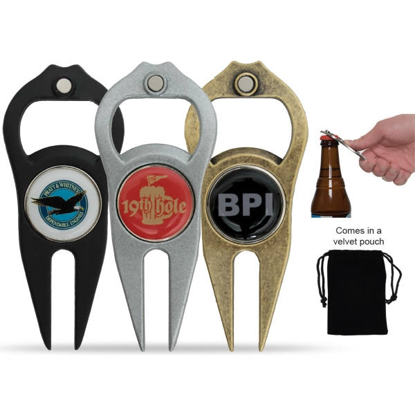 Hat Trick® 6-in-1 Divot Tool