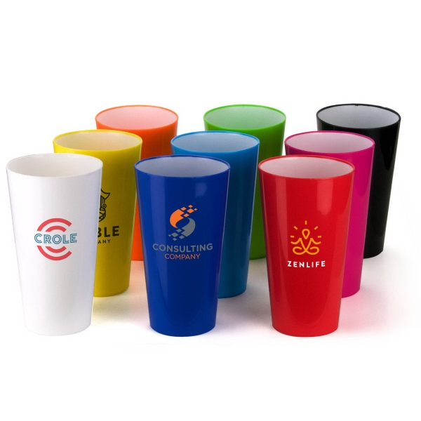 20 oz.Two-Toned Plastic Cup