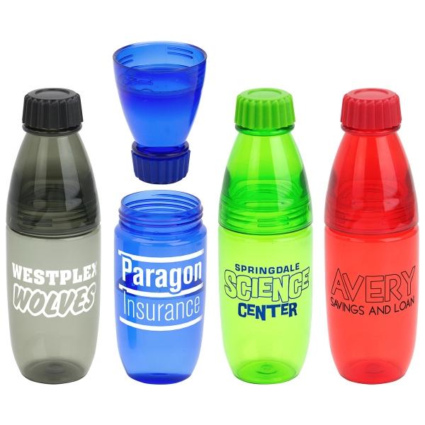 Convertible 20oz Tritan Bottle and Tumbler
