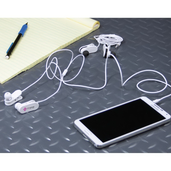 Clip On Wired Ear Buds