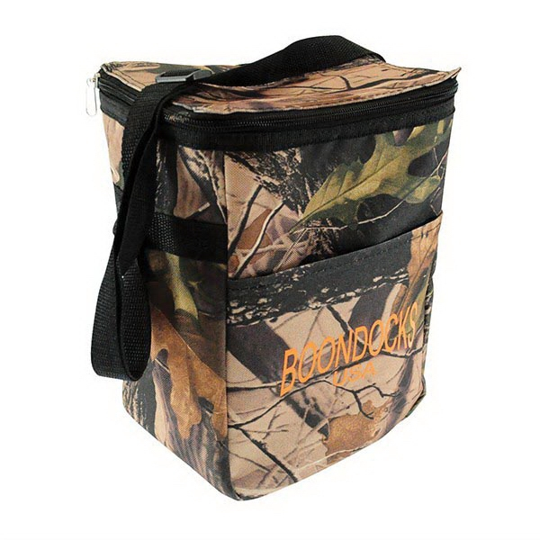 12 Pack Camo Cooler Bag