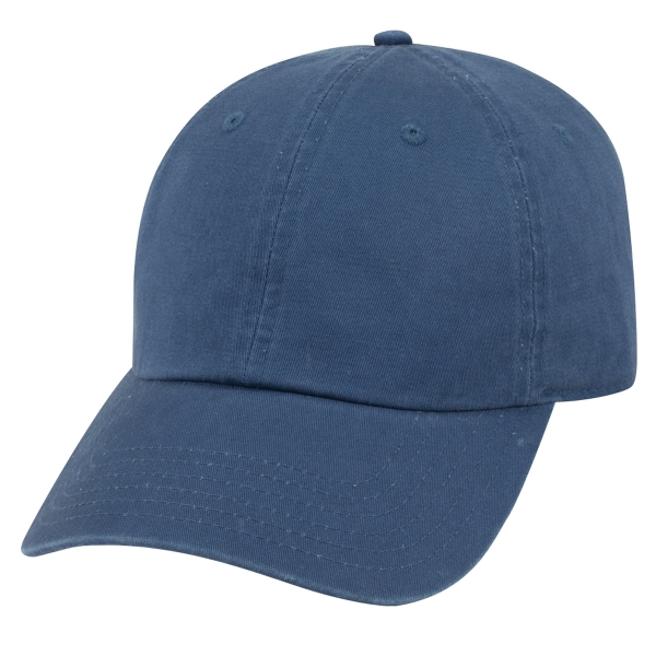 Garment Washed Combed Cotton Twill 6 Panel Dad Hat