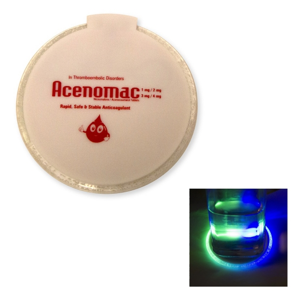 LED Bottle Coaster