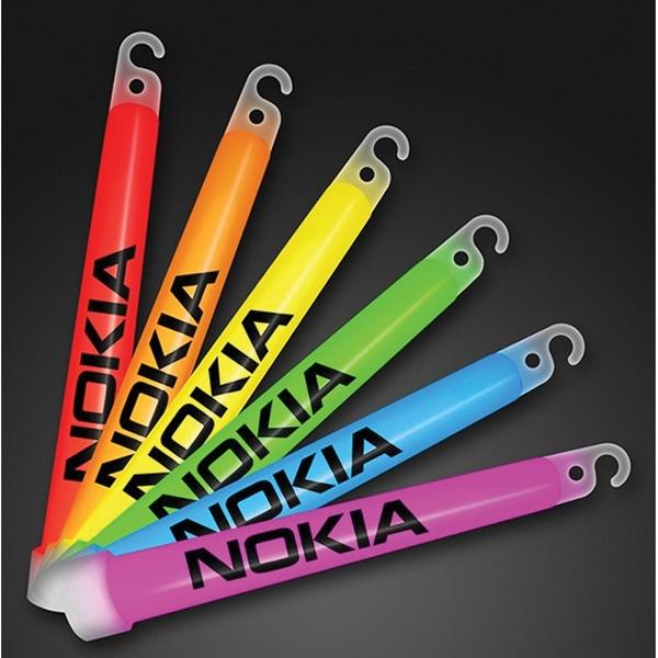 "6"" Glow Sticks Bulk Assorted Colors"