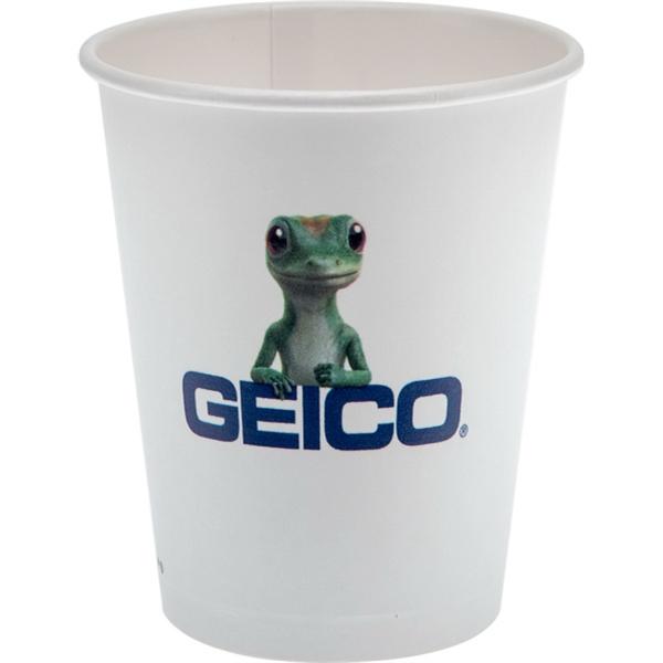 12 oz Eco-Friendly Paper Cup - White - Digital