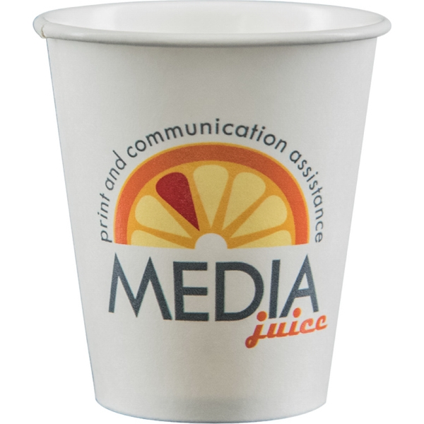 6 oz Paper Cup - White - Digital
