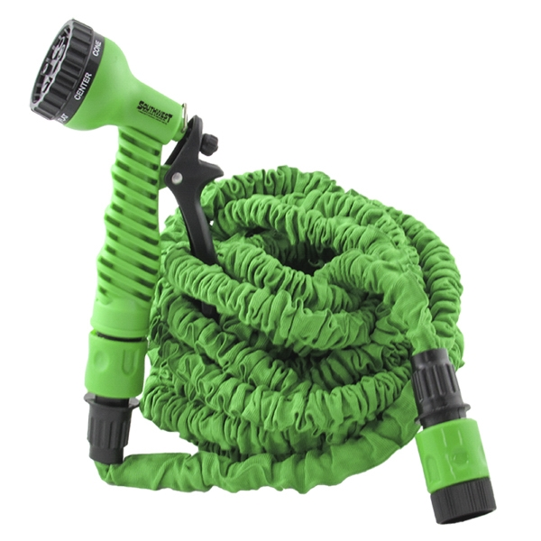 75 Foot Scrunchie Hose W/ Sprayer