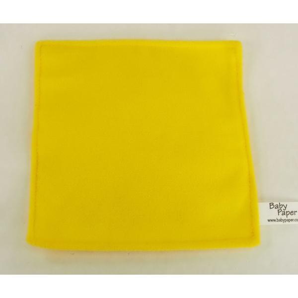 """6"""" Yellow Baby paper"""