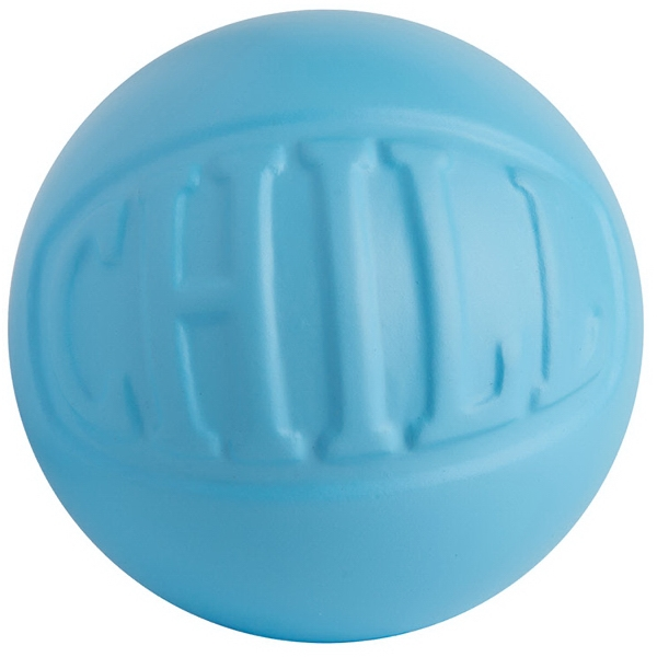 Chill Wordball Squeezie (R) Stress Reliever