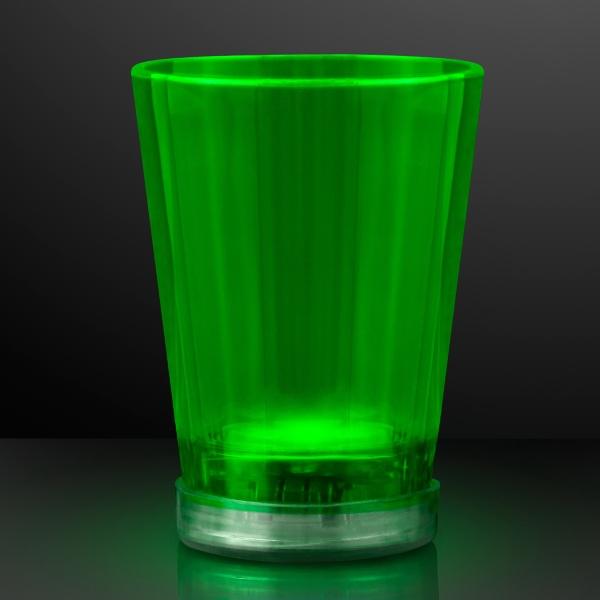 Light Up Green Shot Glasses