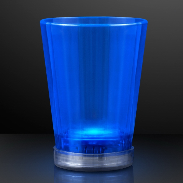 Light Up Blue Shot Glasses