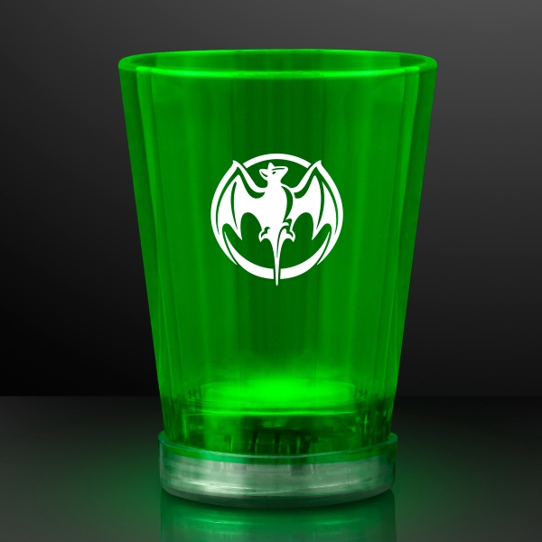 Light Up Green Shot Glasses