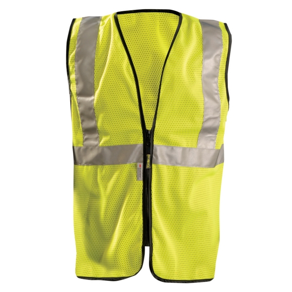 Mesh Standard Vest w/Zipper