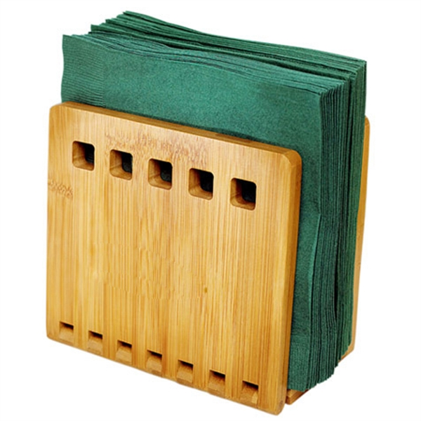 Bamboo Napkin Holder