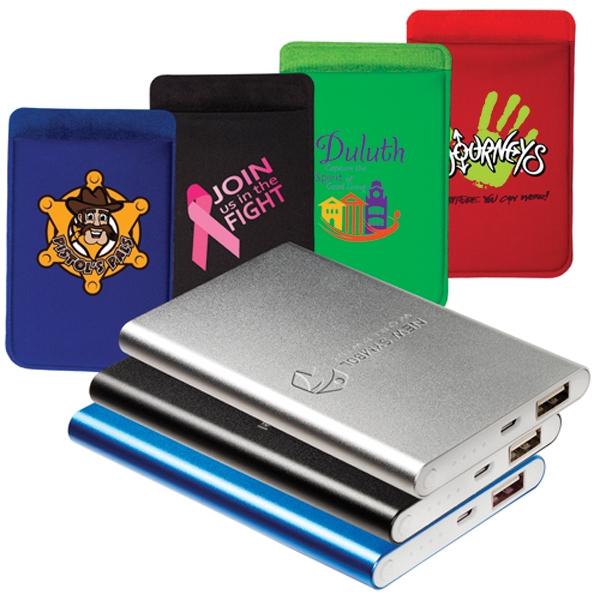 Power Bank and Phone Pocket