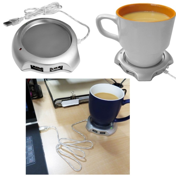 iBank(R)4 Port USB Hub Coffee / Tea Cup Warmer