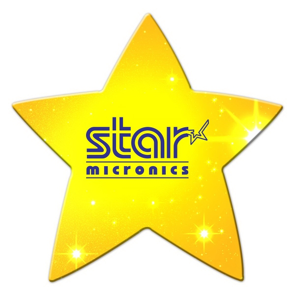 Star Shaped Full Color Magnet