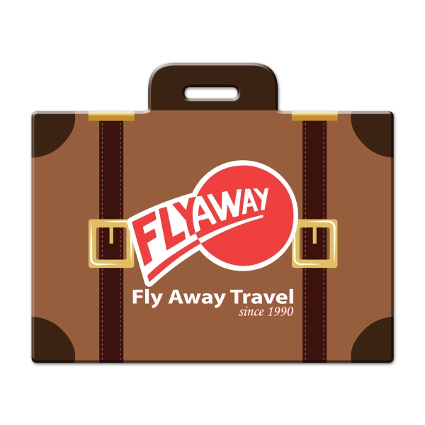 Full Color Luggage Tag - Suitcase