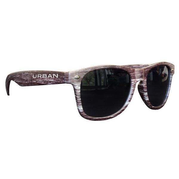 Dark Wood Tone Miami Sunglasses