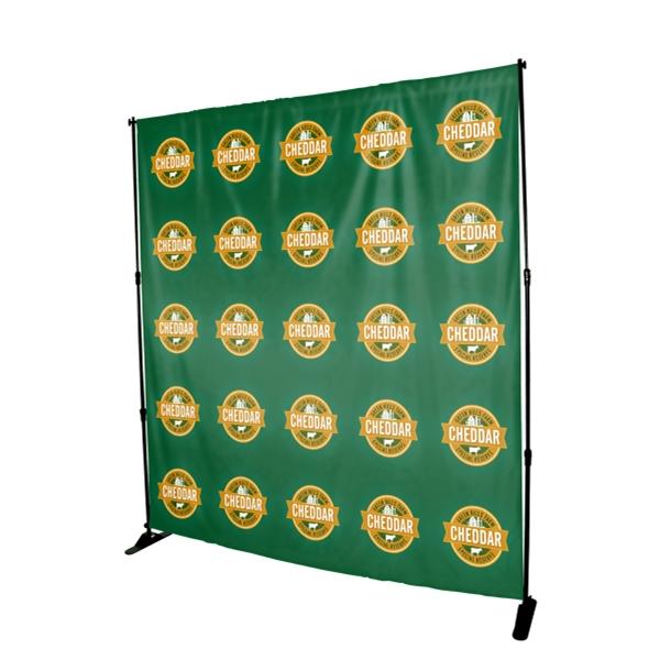 8 ft. W x 8 ft. H Backdrop Kit