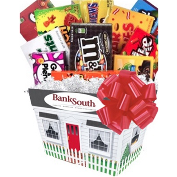Custom New Home Candy Basket