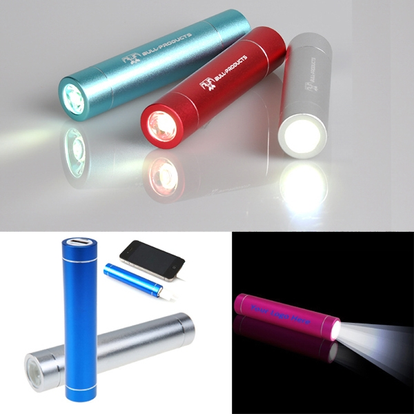 2,600 mAh Led Power Bank