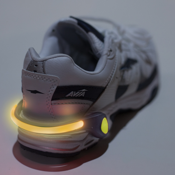 Safety Light Shoe Clip - Safety Light Shoe Clip.