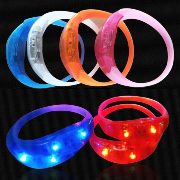 LED Sound Activated Bracelet
