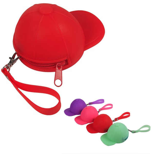 Hat Shaped Silicone Coin Purse