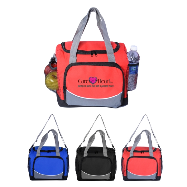 600D Poly Deluxe 24-Can Cooler Bag