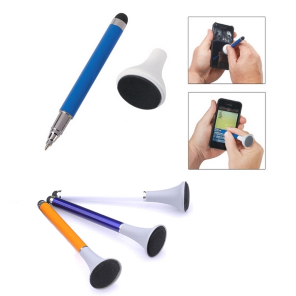 Stylus Pen with Phone Cleaner