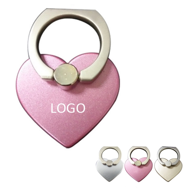 Heart Shape Ring Phone Stand