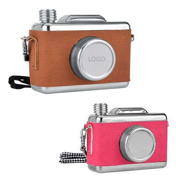 Camera Shape Flask