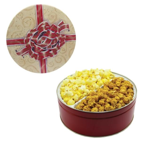 The King Size Popcorn Tin - Silver