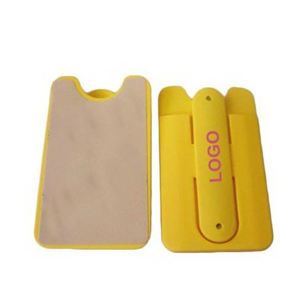 Adhesive Silicone Card Holder