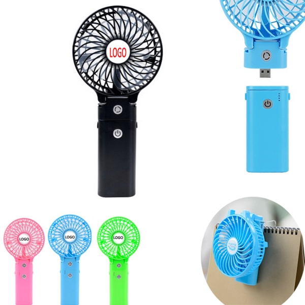 Foldable Mini Fan & Power Bank