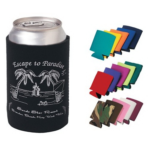 Premium Foam Collapsible Can Coolers