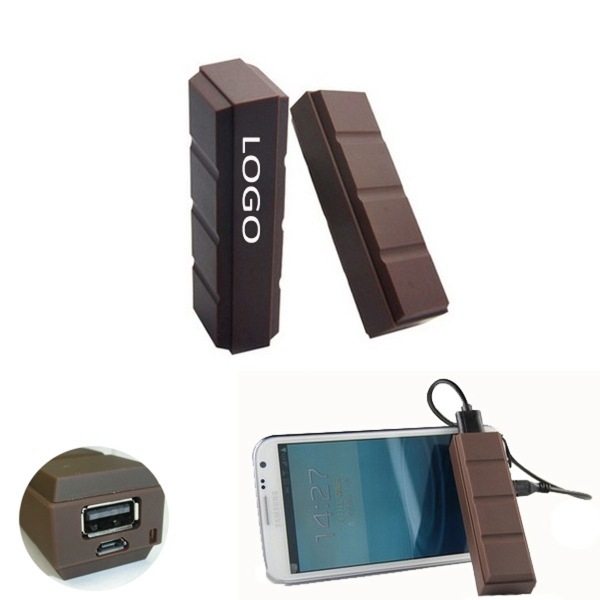 Chocalate Shaped Power Bank