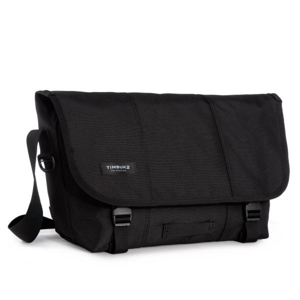 Classic Messenger Bag - Medium Jet Black
