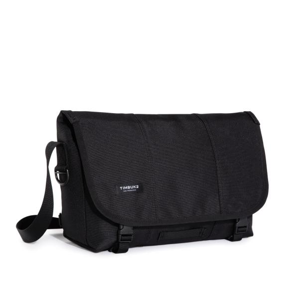 Classic Messenger Bag -Small Jet Black